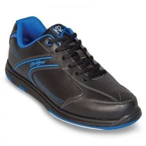 Mens Flyer Black Blue Right or Left Hand Bowling Shoes