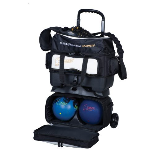Hammer Vibe 4 Ball Stackable Black White Bowling Bag