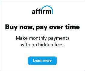 Affirm Monthly Payments at BowlersMart